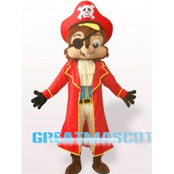 Pirate Squirrel Mascot Costume