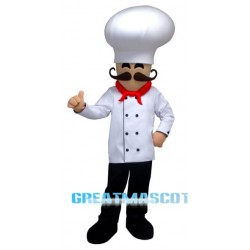 Smile Chef Man Mascot Costume