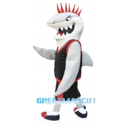 Sport White Shark Mascot Costume