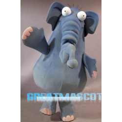 Cute Elephant Mascot Costume