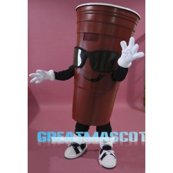 Red Cup Mascot Costume