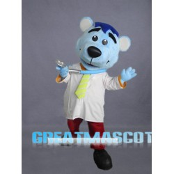 Doctor Bear Mascot Costume