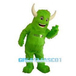 Green Monster Mascot Costume