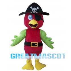 Pirate Parrot Mascot Costume