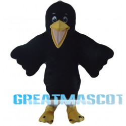 Black Bird Mascot Costume Free Shipping