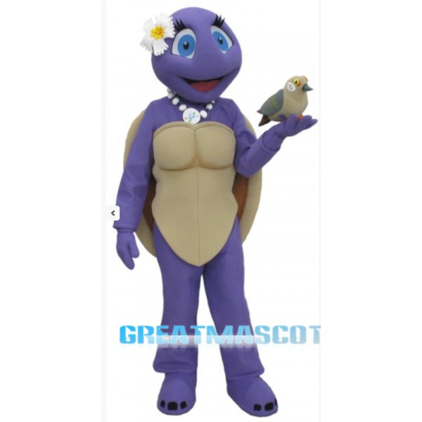 Female Turtle Mascot Costume