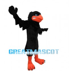 Black Crow Mascot Costume