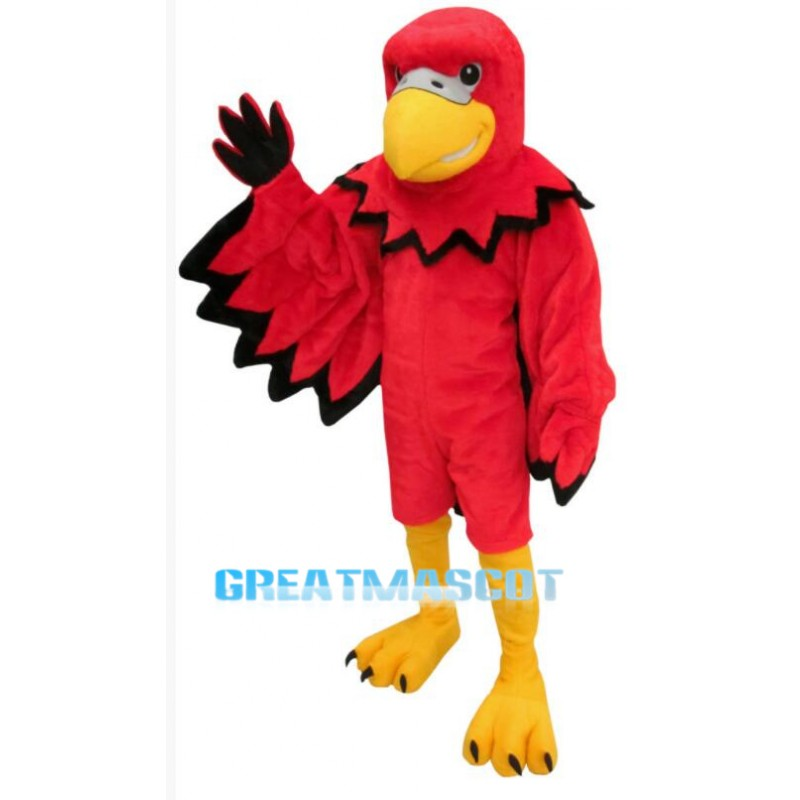 Red Bird Mascot Costume