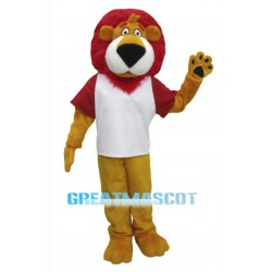 Red Hair Lion Mascot Costume