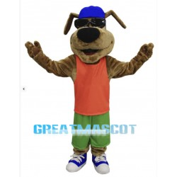 Happy Dog Mascot Costume