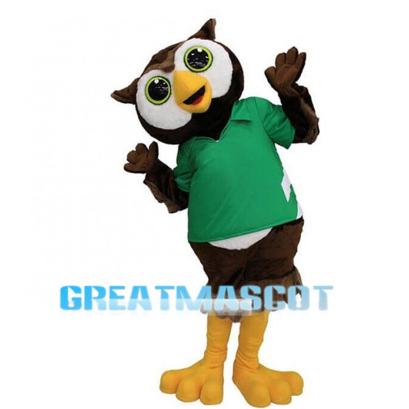 Lovely Owl Mascot Costume