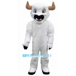 White Buffalo Mascot Costume