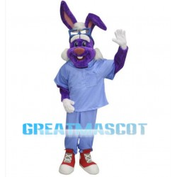 Dr Rabbit Mascot Costume