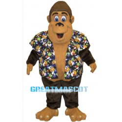 Happy Gorilla Mascot Costume