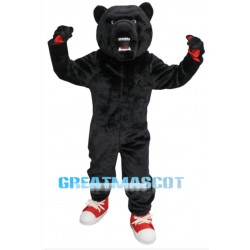 High School Black Bear Mascot Costume
