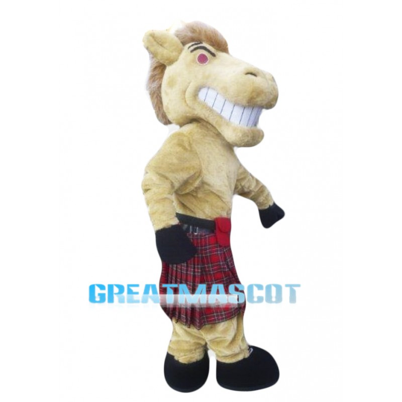Fierce Horse Mascot Costume