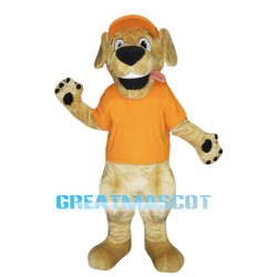 Retriever Dog Mascot Costume
