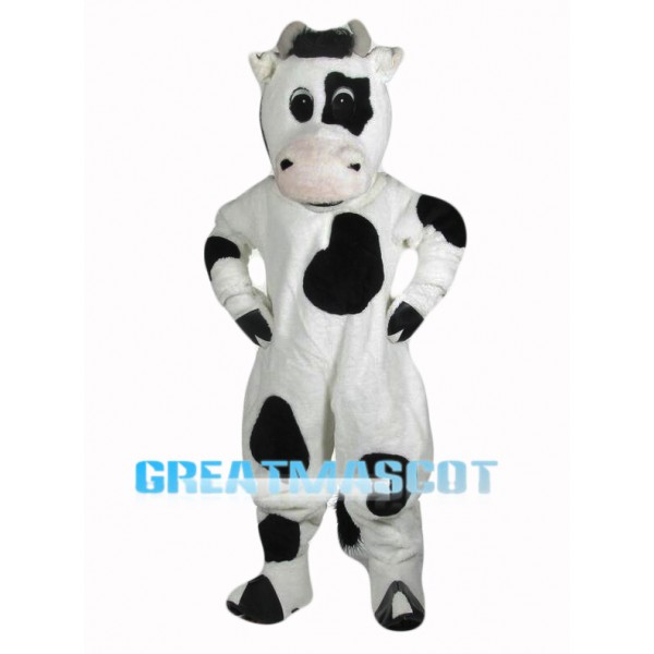 Cute Cow Mascot Costume Free Shipping