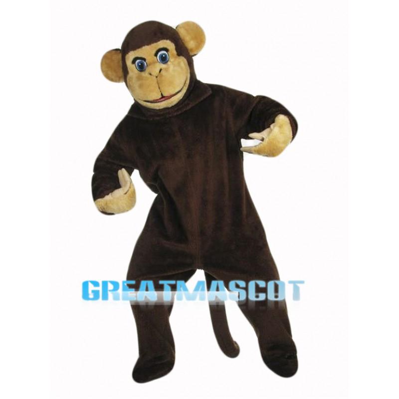 Curious Monkey Mascot Costume
