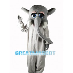 Female Elephant Mascot Costume Free Shipping