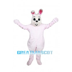 Pink Easter Bunny Mascot Costume