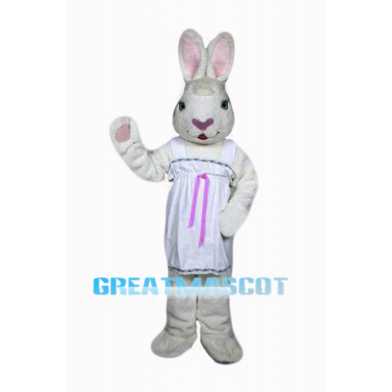 Female Easter Bunny Mascot Costume