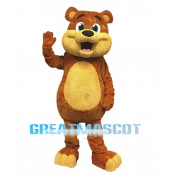 Professional Quality Bear Mascot Costume