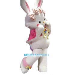 Super Cute Rabbit Mascot Costume