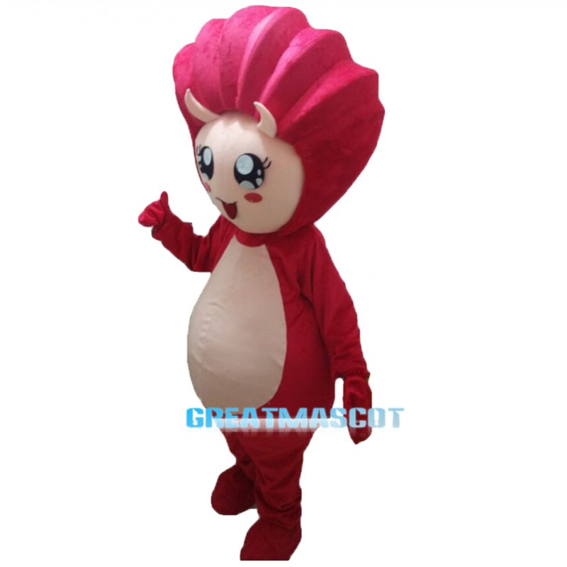 Red Shell Mascot Costumes