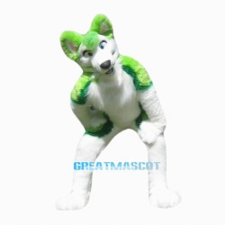 High quality Husky Plush materia Mascot Costume