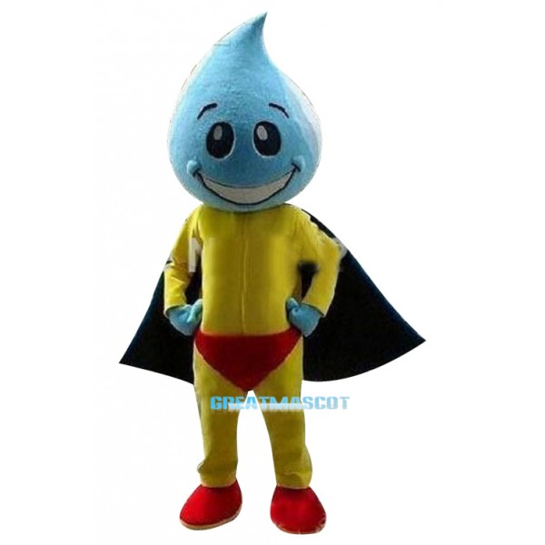 Colorful Water Droplet Mascot Costumes