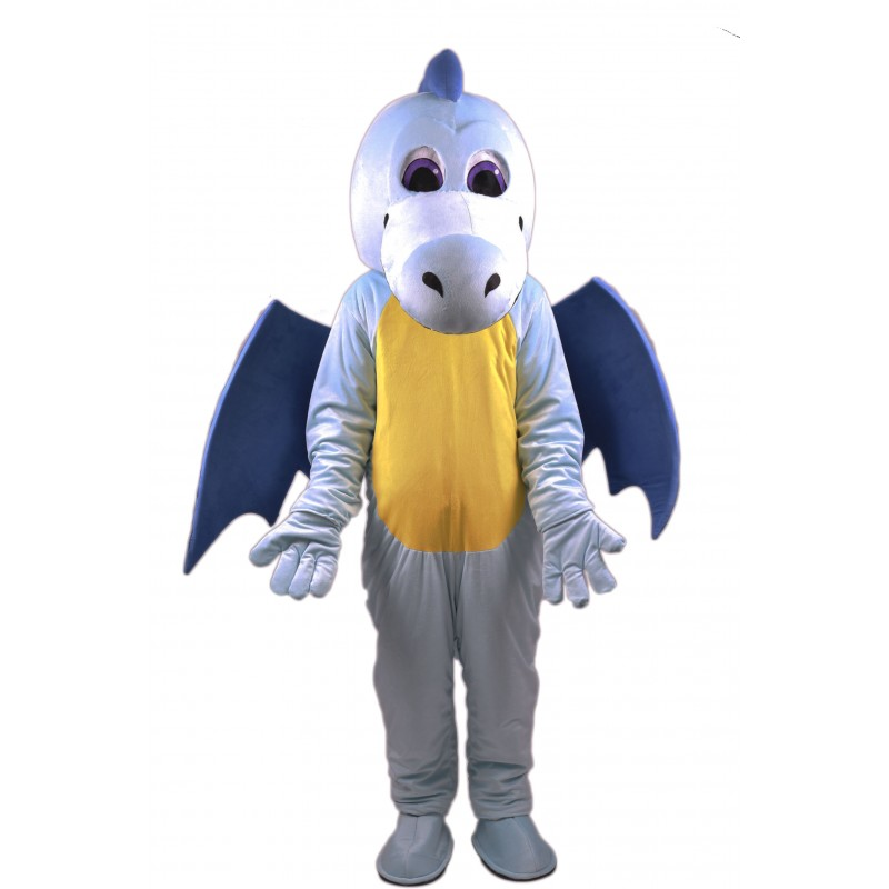 Blue Dragon Lightweight Mascot Costume Free Shipping