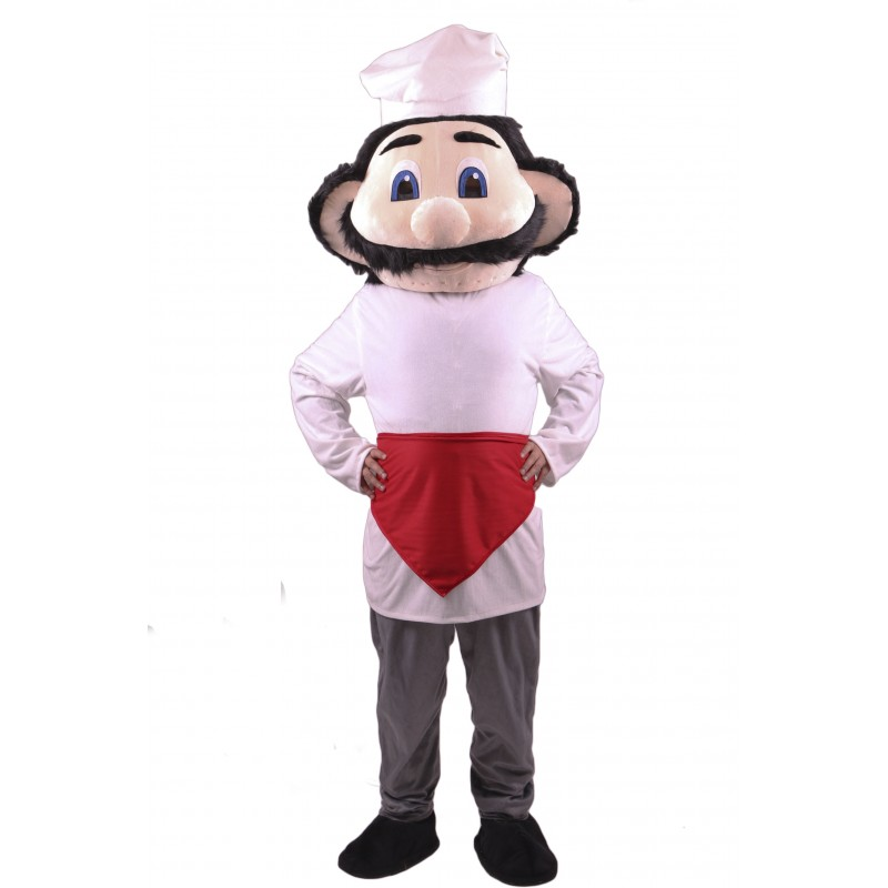 Chef Mascot Costume Free Shipping