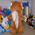 High Quality Chubby Squirrel Mascot Costume