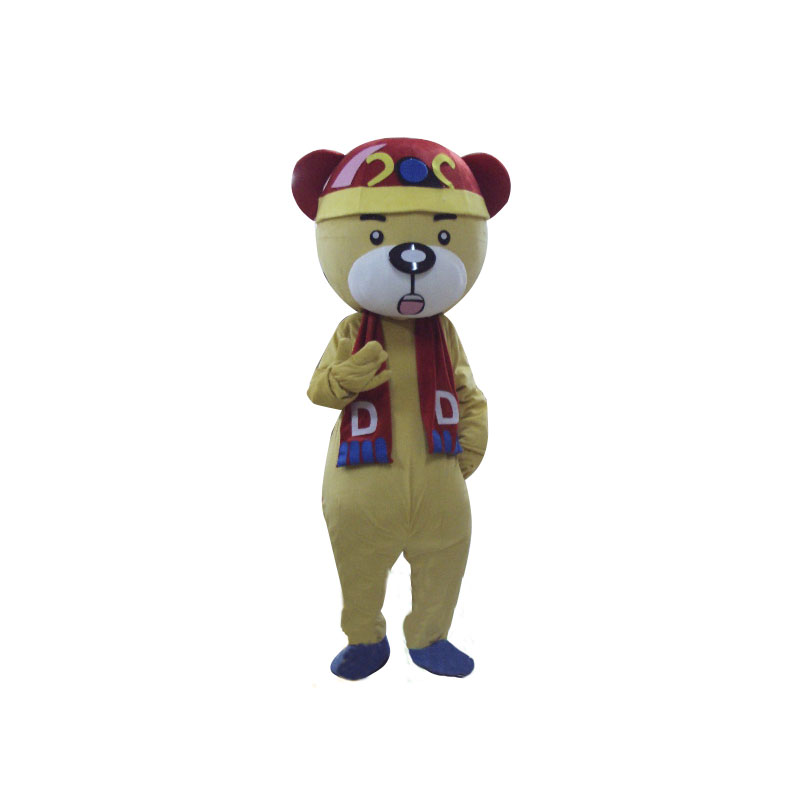 Chinese Bear Lightweight Mascot Costume
