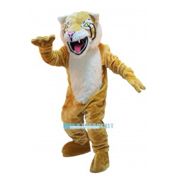 High Quality Cute Fierce Wildcat Mascot Costume