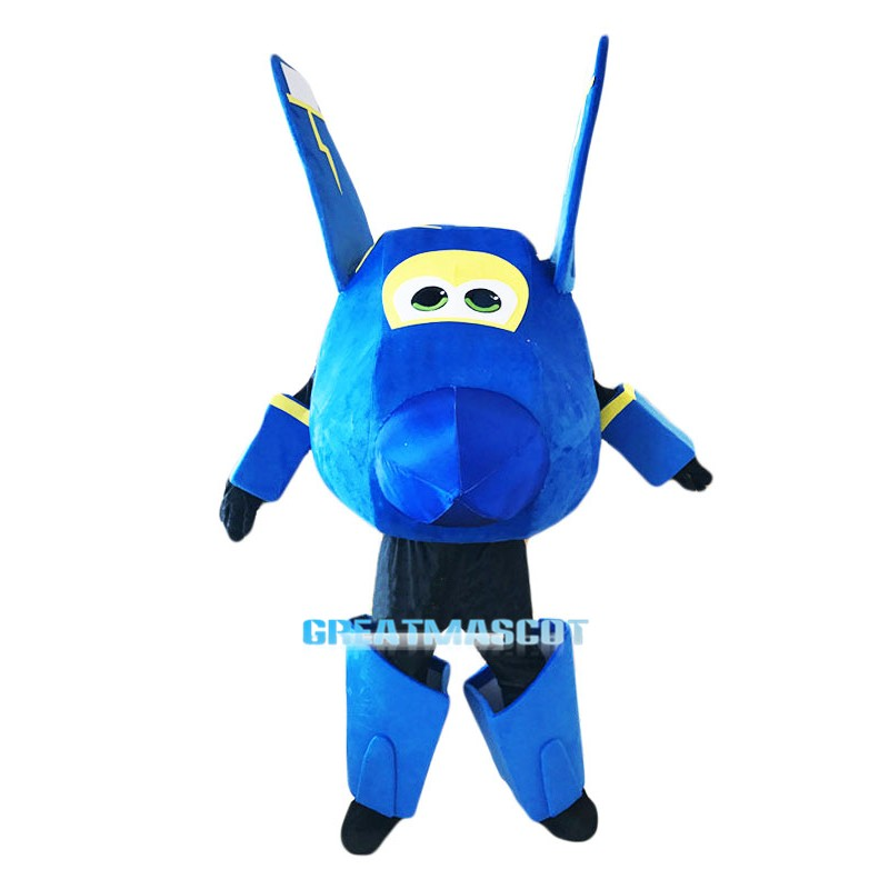 Super Wings Cartoon Jerome Mascot Costume