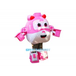 Super Wings Cartoon New Dizzy Mascot Costume