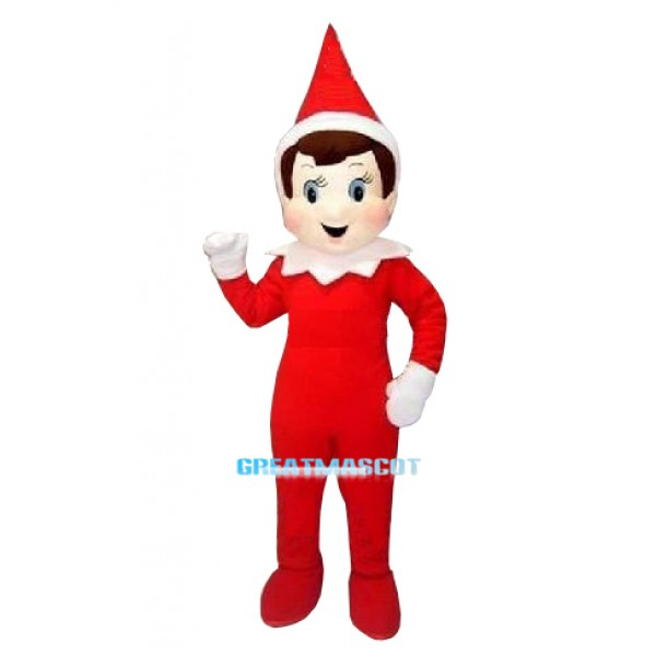 Creepy Elf Pinocchio On The Shelf Mascot Costumes