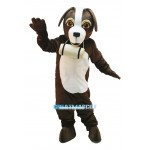 Cute St. Bernard Dog Mascot Costume