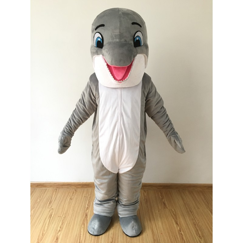 Happy Dolphin Mascot Costume Free Shipping