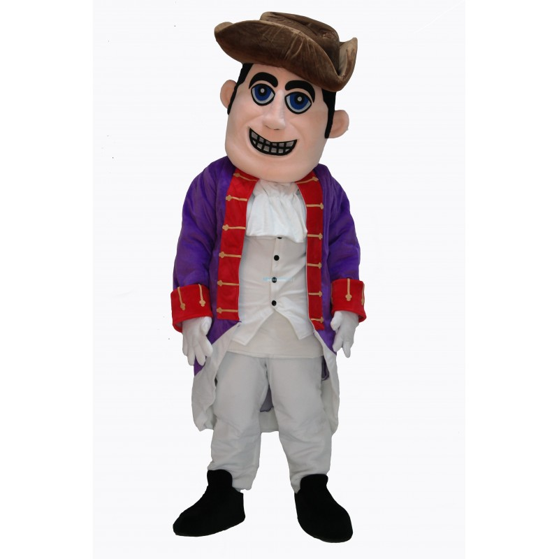 Cute People Patriot Mascot Costume on Clearance