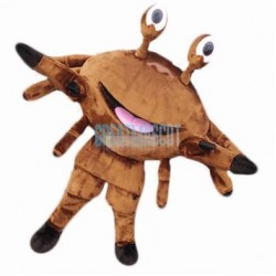 Brown Crab Mascot Costumes