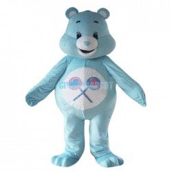 Cartoon Care Bear Mascot Costume Lucky Bear Costume for Adult