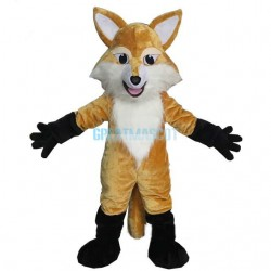 Brown Fox Mascot Costume Animal Costume for Adult