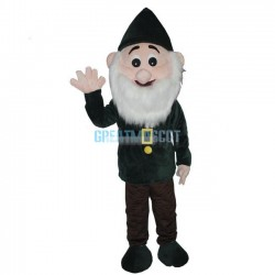 Cartoon Father Christmas Santa Mascot Costume for Adult