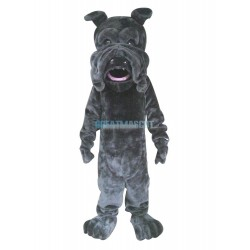 Black SharPei Mascot Costume Dog Costume for Adult