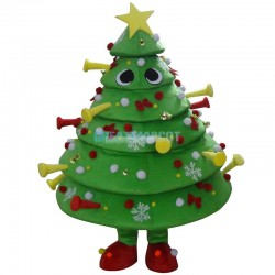Deluxe Christmas Tree Mascot Costume