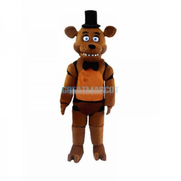 Five Nights At Freddy's FNAF Brown Bonnie Mascot Costume