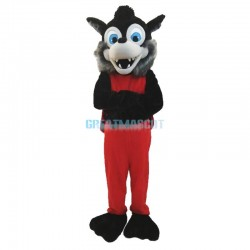 Popular Animal Gray Wolf Plush Mascot Costume